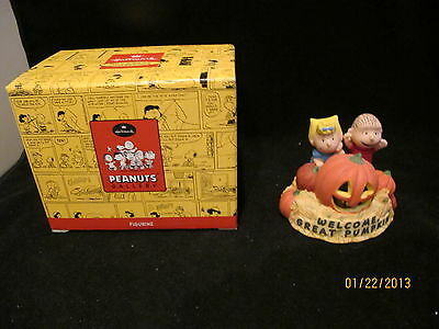 Hallmark - Peanuts Collectable Figurine Halloween-Lighted Qpc4022