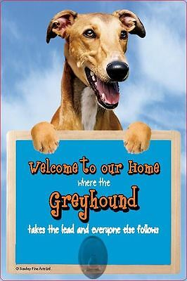 Scottish Collectables Greyhound 3D Lead Hanger Wall Plaque