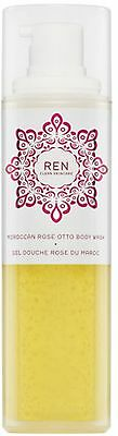 REN Moroccan Rose Otto Body Shower Wash 200ml Brand New Boxed