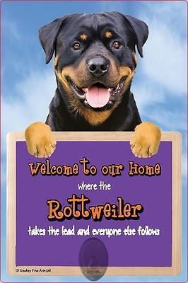 Scottish Collectables Rottweiler 3D Lead Hanger Wall Plaque