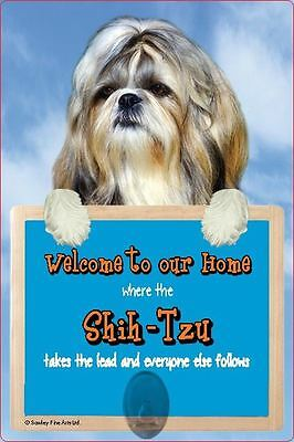 Scottish Collectables Shih-Tzu 3D Lead Hanger Wall Plaque