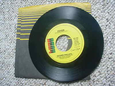 kudu ESTER PHILLIPS Fever / for all we know 45 rpm record ku 929