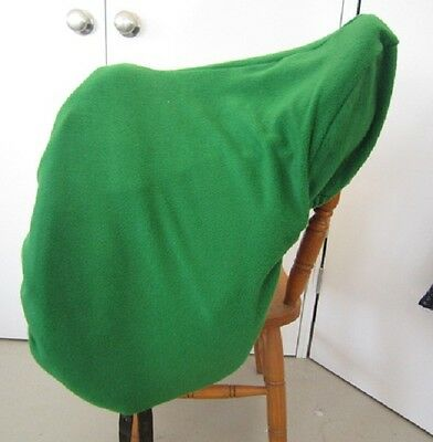 Horse Saddle cover in Medium green FREE EMBROIDERY Made in Australia  Protection