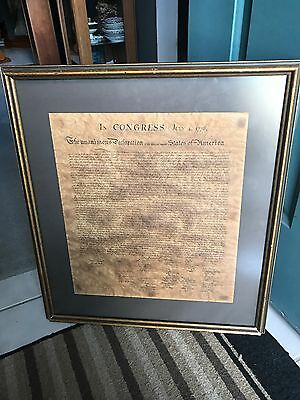 Declaration of Independence: the last Stone's copper plate was in 1976 READ ALL