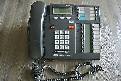 Nortel Networks T7316E Commercial Office Business Intercom Phone Charcoal