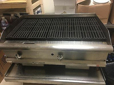 commercial gas grill 36""