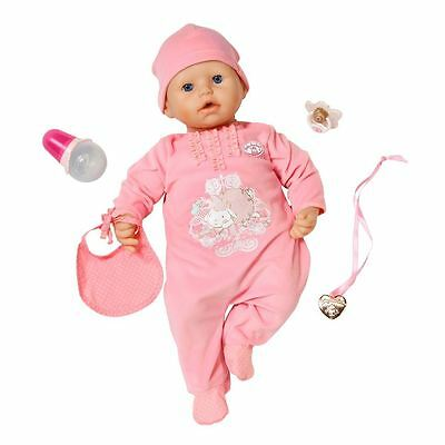Baby Annabell Doll Bottle Potty Realistic Sounds Movements 46cm Toy Girls New
