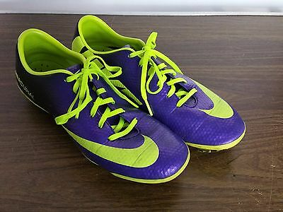 Nike Jr. Mercurial Vapor Soccer Cleats IX FG US 5Y Youth 555601 570