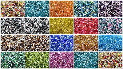 5000 x 11/0 Seed Beads - Mix Mixes - Choice of Colours -