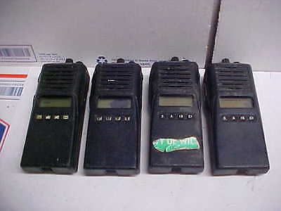 Kenwood portable radio tk-480 800mhz 4ea as 1 lot displays look bad loc#14b83