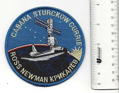 Nasa Space Mission Patch ENDEAVOUR CABANA STURCKOW CURRIE ROSS NEWMAN
