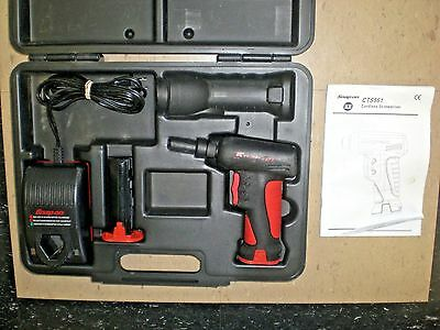 Snap On Cts561 7.2V Cordless Screwdriver W/ Charger & 2 Batteries Look!
