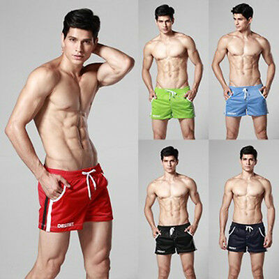 Newest high quality male Gym shorts mesh breathable men's runing wear M L XL
