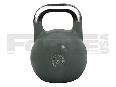 Brand New Force Usa Pro Grade Competition Kettlebell - 22 Kg