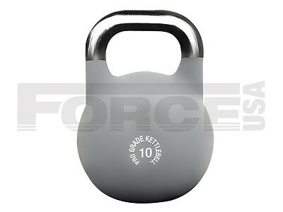 Brand New Force Usa Pro Grade Competition Kettlebell - 10 Kg
