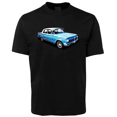 New Black EH Holden Illustrated T Shirt Size S -5XL +7XL