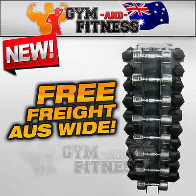 Brand News Dumbbell Vertical Rack Storage Tree Stand Equipment Home Gym Fitness