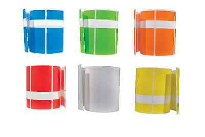 OPTIMA ELECTRICAL TAG ROLLS (250 tags per Roll) Various Colors