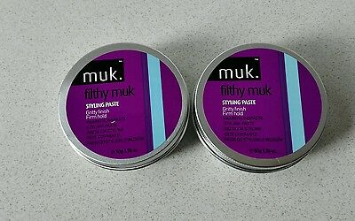 2x Muk Filthy Firm Muk 50gm. Genuine Products. Australian Stock