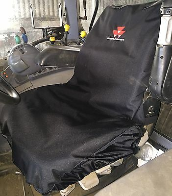 Embroidered with Massey Ferguson Logo Waterproof Tractor Seat Cover