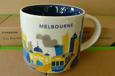 STARBUCKS Mugs - You Are Here - Collector Editions - (MELBOURNE)