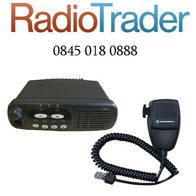 Motorola Gm340 Vhf Data Taxi Mobile Two Way Radio Comes With Free Programming