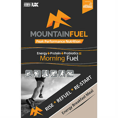 Mountain Fuel Nutrition Morning Fuel Energy Breakfast Meal 50g x 10 Sachets