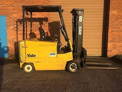 Yale Electric Forklift 3 Tonne Lift