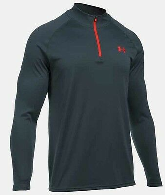 mens tech under armour 1/4 zip top size small