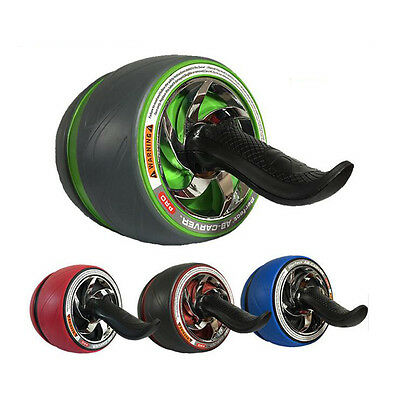 Pro Perfect Fitness Abdominal Exerciser Power Roller Wheel Ab Carver Workout Gym