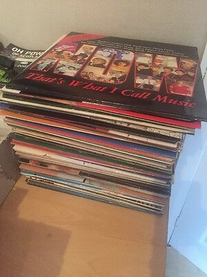 Job Lot/ Collection of 82 x Vinyl Records - Various