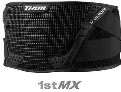 2017 Thor MX Clinch Motocross Body Belt Black Kids Youth ONE SIZE