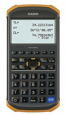 CASIO Fx-FD10 PRO : Civil Engineering & Surveying Calculator Japan with Tracking