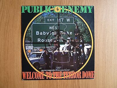 """Public Enemy – Welcome To The Terrordome 12"""" Vinyl Single"""