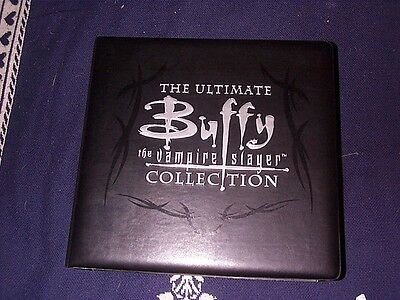 The Ultimate Buffy The Vampire Slayer Card Collection & Large Poster