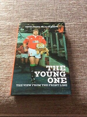 Signed Book By Rugby Union Legend David Young Wales & British Lions