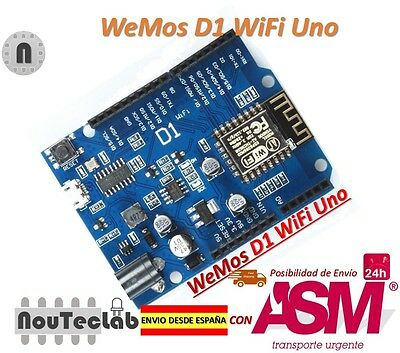 ESP-12F WeMos D1 WiFi UNO board based ESP8266 for arduino Compatible IDE