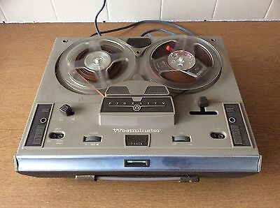 Fidelity Westminster CTRI Reel To Reel Tape Deck, Good Con Working