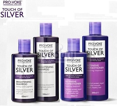 Touch Of Silver Twice Week Shampoo & Conditioner For Blonde,Platinum, White Hair