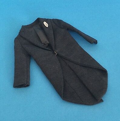 Vintage Barbie Ken Here Comes The Groom Grey Tailcoat Tuxedo Jacket
