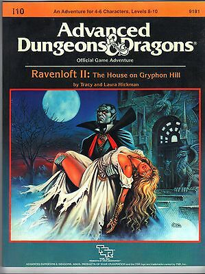 RAVENSLOFT II AD&D 2e 9181 I10 The House on Gryphon Hill New Price Inc Del in UK