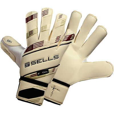 SELLS TOTAL CONTACT EXCEL 4 Goalkeeper Gloves Size