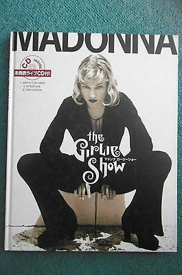 MADONNA the Girlie Show PHOTO BOOK Unreleased CD Limited Edition F/S