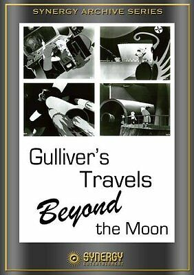 NEW Gulliver's Travels Beyond the Moon (1965) (DVD)