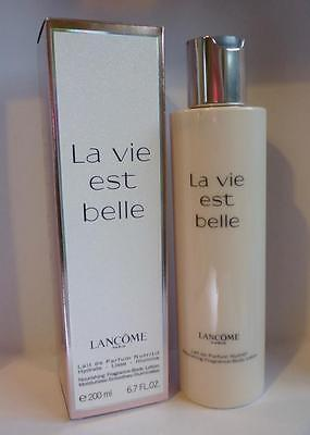 Lancome La Vie Est Belle Body Lotion 200ml ~ BNIB (No Cellophane)