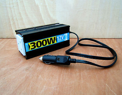 Nikkai Dc To Ac Power Inverter 12 Volt To 230V - 300W - In Car Accessory