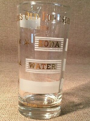 Old Forester Kentucky Straight Bourbon Whiskey 10 Oz. Glass- Louisville, KY