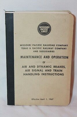 Missouri Pacific Texas Pacific Railroad Manual 1967 Maintenance & Operation