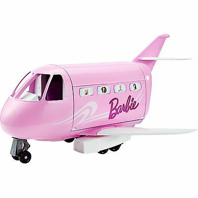 Barbie Doll Passport Vacation Airplane Jet Plane Glam Girl Gift Toy Playset Kit