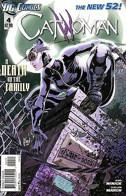 Catwoman Comic 4 DC 2012 New 52 Winick March  A Death In The Family